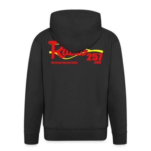 radio257 banner logo web generic - Men's Premium Hooded Jacket