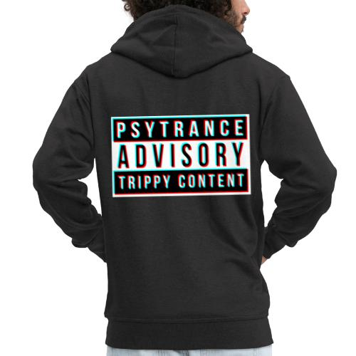 Psytrance - Men's Premium Hooded Jacket