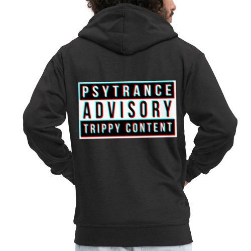 Psytrance - Men's Premium Hooded Jacket