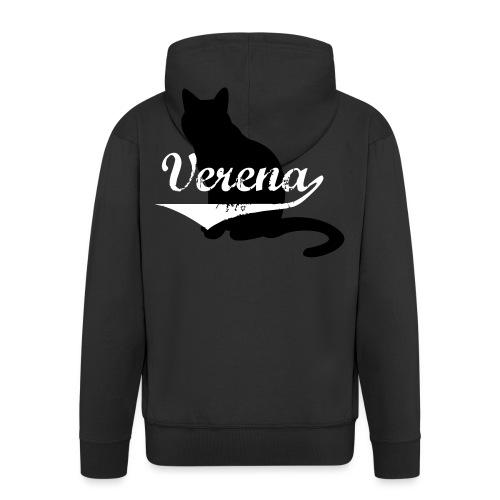 Verena Cat - Männer Premium Kapuzenjacke