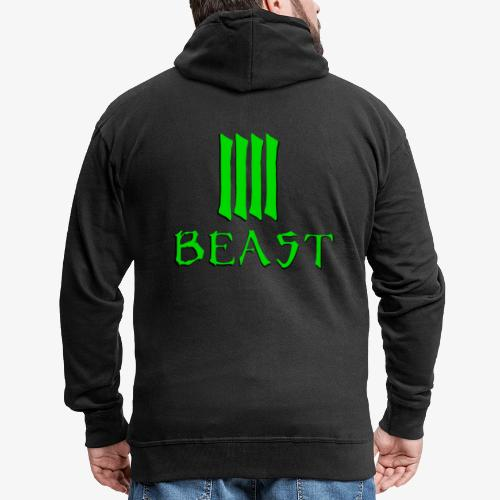 Beast Green - Men's Premium Hooded Jacket