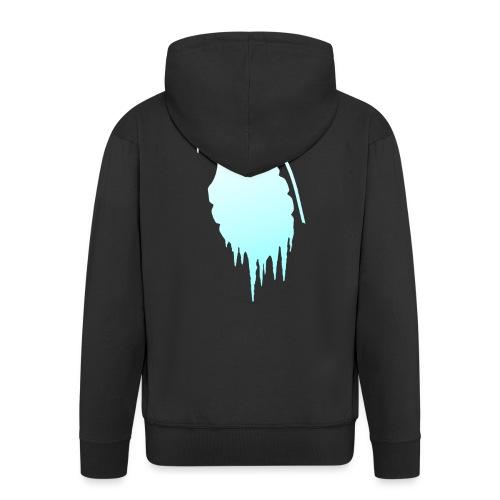 IceGrenade Merch Design #1 - Men's Premium Hooded Jacket