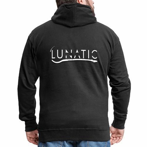 Lunatic Official logo - Veste à capuche Premium Homme