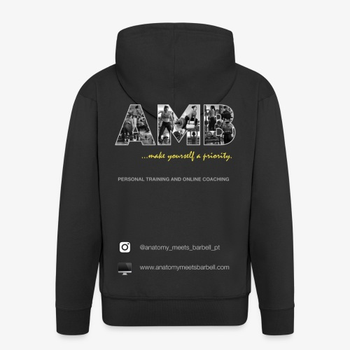 AMB - Men's Premium Hooded Jacket
