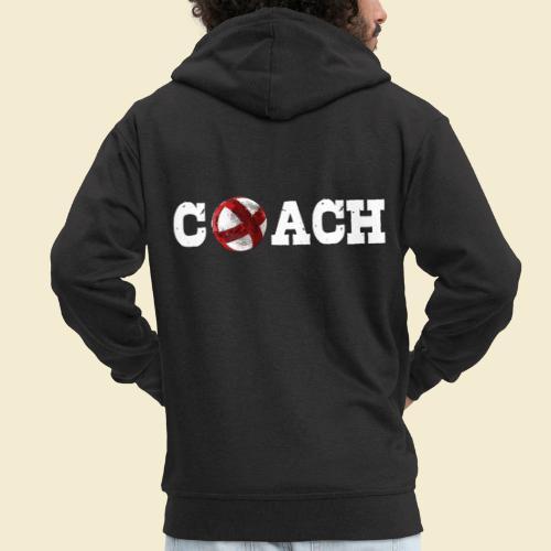 Radball   Coach - Männer Premium Kapuzenjacke