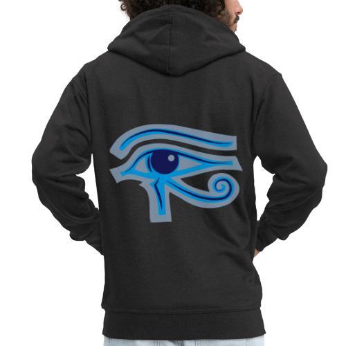 Ägypten-Auge des Horus - Männer Premium Kapuzenjacke