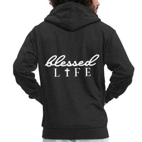 Blessed Life - Jesus Christlich - Männer Premium Kapuzenjacke