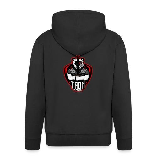 Tron-Gaming-Logo-Transparent - Männer Premium Kapuzenjacke