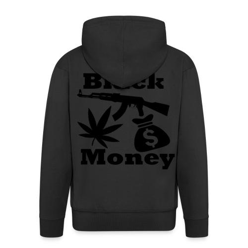 Black Money - Mannenjack Premium met capuchon