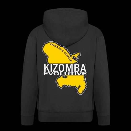 kizomba dos - Veste à capuche Premium Homme