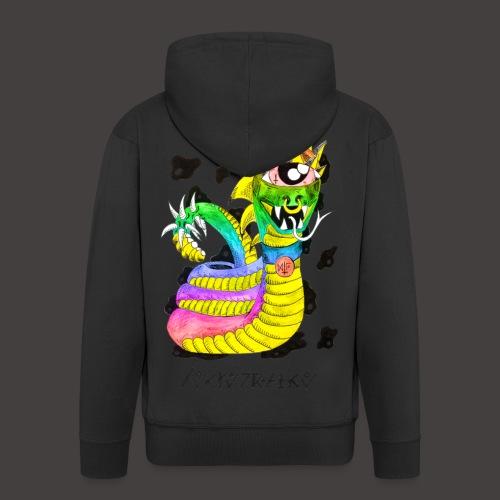 serpentaire multi-color - Veste à capuche Premium Homme