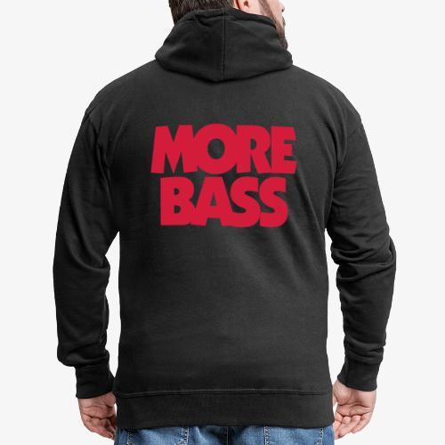 More Bass Bassist Bassisten - Männer Premium Kapuzenjacke