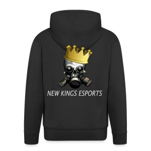 New Kings Esports Logo big - Männer Premium Kapuzenjacke