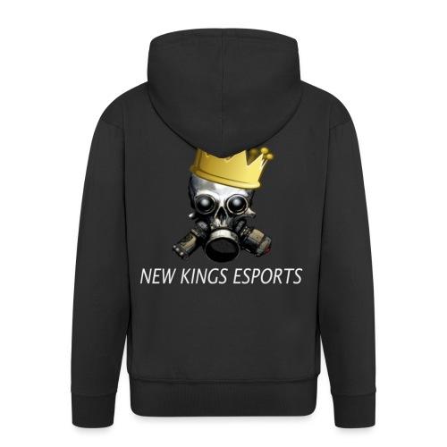 New Kings Esports Logo big - Männer Premium Kapuzenjacke