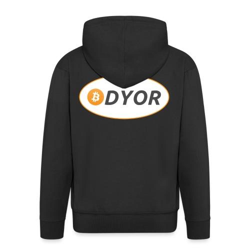 DYOR - option 2 - Men's Premium Hooded Jacket