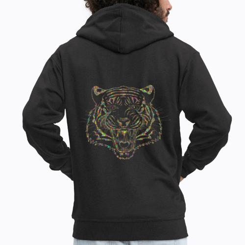 tiger colors - Men's Premium Hooded Jacket