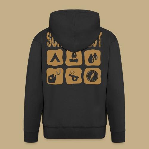 Survivalist - Männer Premium Kapuzenjacke