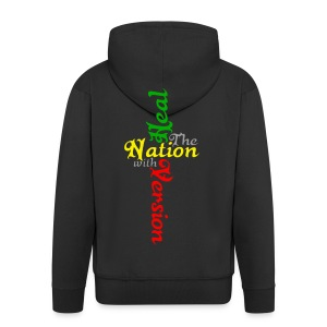 Reggae Healing Gears - Men's Premium Hooded Jacket