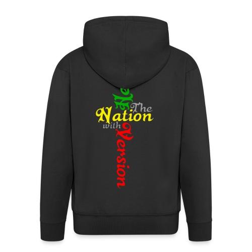 Reggae Healing Gears - Men's Premium Hooded Jacket