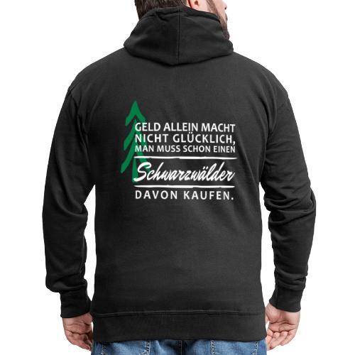T-Shirt Spruch Geld Schwa - Männer Premium Kapuzenjacke