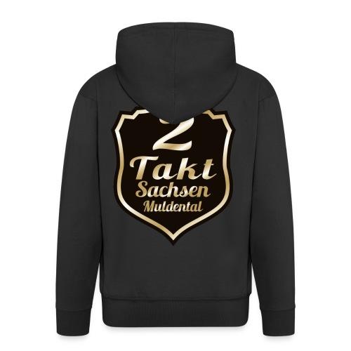 2 Takt Sachsen/ Muldental Merchandising - Männer Premium Kapuzenjacke