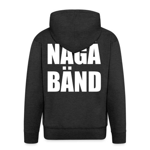 NÅGÅ BÄND - Men's Premium Hooded Jacket