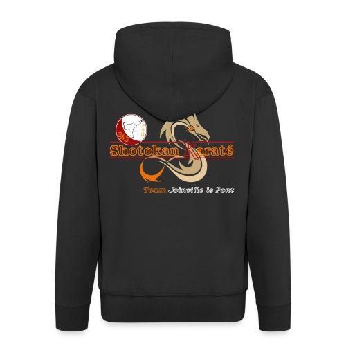 Visuel Karate Noir CM TShirtOnly png - Veste à capuche Premium Homme