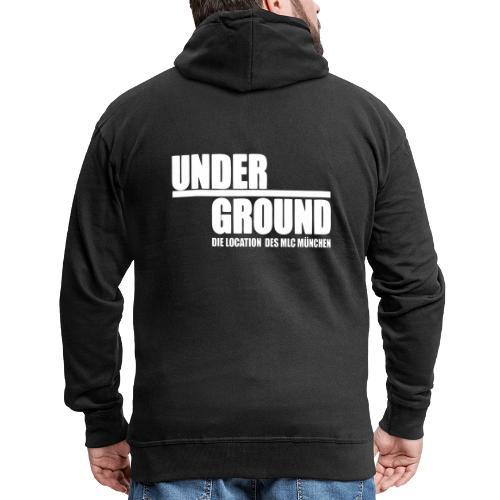 MLC UnderGround - Männer Premium Kapuzenjacke