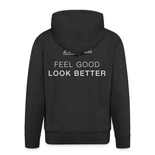 Feel Good Look Better - Männer Premium Kapuzenjacke