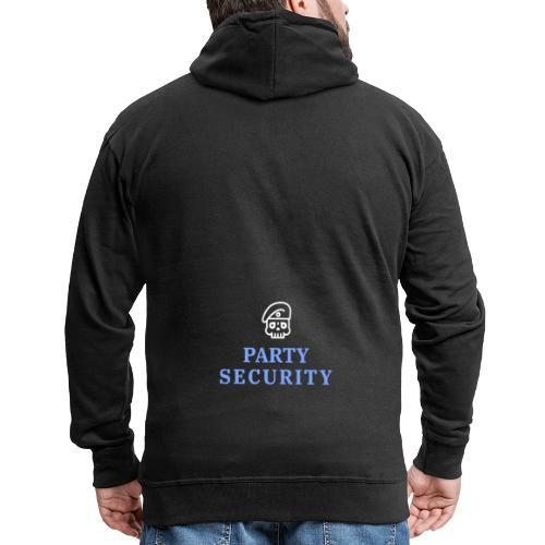 Party Security - Männer Premium Kapuzenjacke