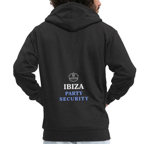 Ibiza | Party Security - Männer Premium Kapuzenjacke