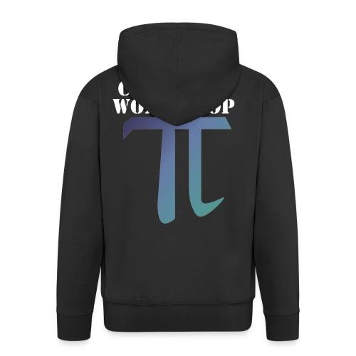 Pi Day Cant Stop Wont Stop Shirt Dunkel - Männer Premium Kapuzenjacke