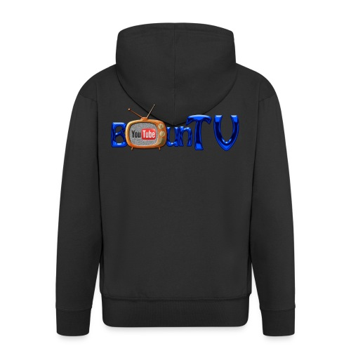 BounTV Logo - Männer Premium Kapuzenjacke