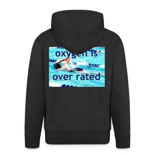 oxygen - Men's Premium Hooded Jacket