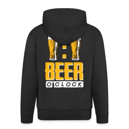 BEER O'Clock - Männer Premium Kapuzenjacke