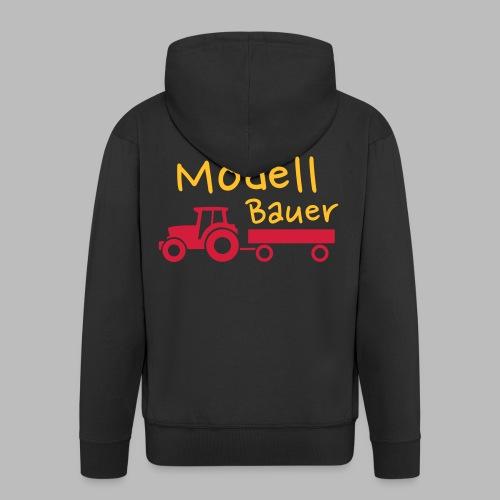 Modellbauer - Modell Bauer - Männer Premium Kapuzenjacke