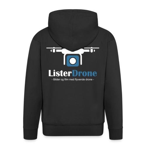ListerDrone logo - Premium Hettejakke for menn