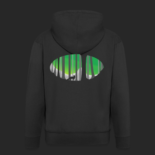 Forest Fox - Men's Premium Hooded Jacket