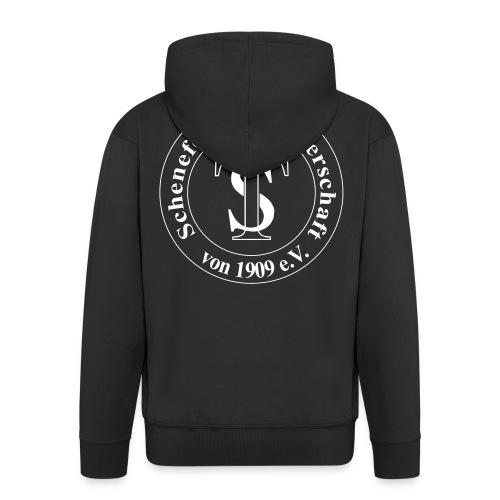 TS Logo schw weiß - Männer Premium Kapuzenjacke