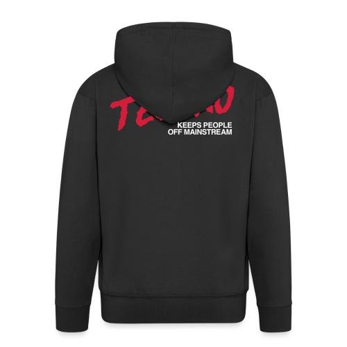 Techno music - Men's Premium Hooded Jacket