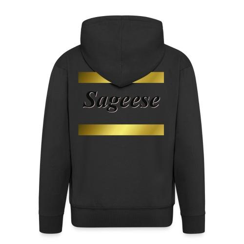 Sageese1400 - Men's Premium Hooded Jacket