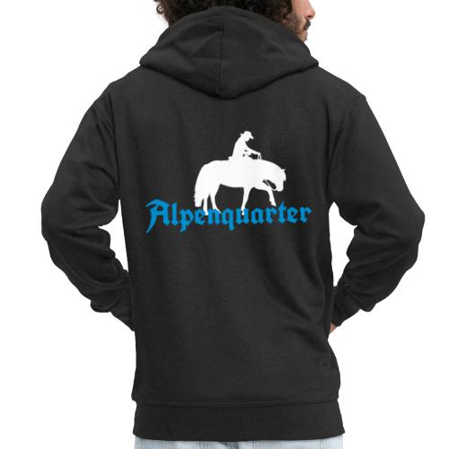 Alpenquarter_Trail02 - Männer Premium Kapuzenjacke