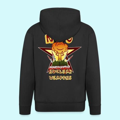 no nuclear Weapons - Keine Atomwaffen - Männer Premium Kapuzenjacke