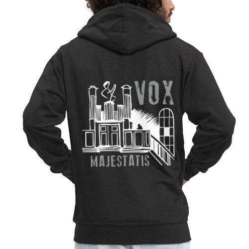 orgel vox majestatis 01 - Männer Premium Kapuzenjacke