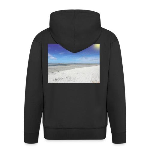 The Beach- La plage - Veste à capuche Premium Homme