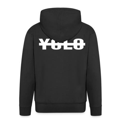 NO YOLO - Veste à capuche Premium Homme
