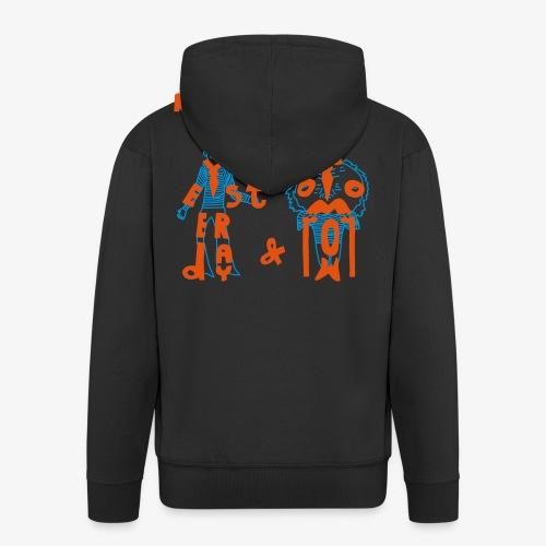 My imaginary friends T-shirt - Männer Premium Kapuzenjacke