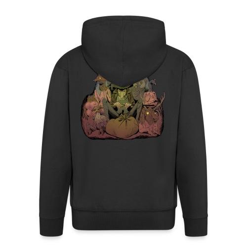 T-shirt Stor- Jobal från Krokjala - Men's Premium Hooded Jacket