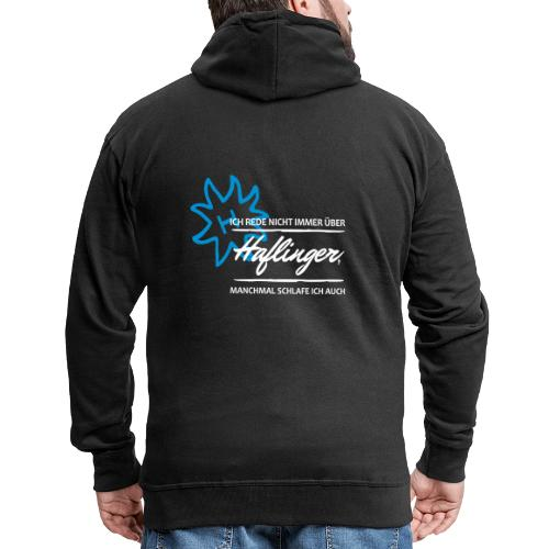 T-Shirt Spruch Haflinger - Männer Premium Kapuzenjacke
