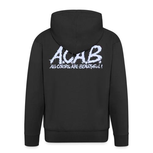 ACAB - Herre premium hættejakke